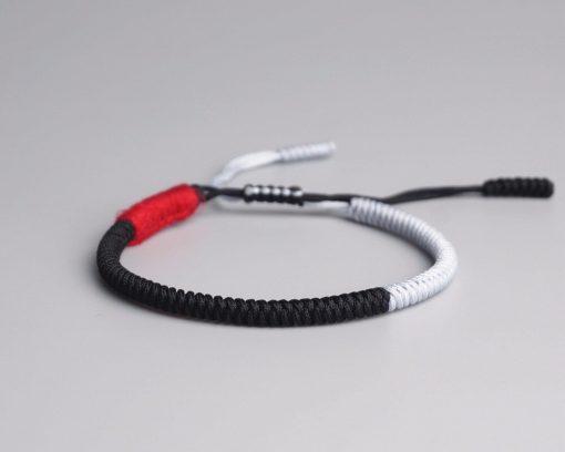 Petit Bracelet blanc et noir