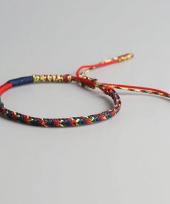 Bracelet Thailandais Porte Bonheur Multicolores