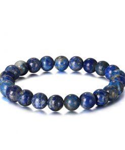 Bracelet chakra troisieme œil – Pierre Lapis Lazuli