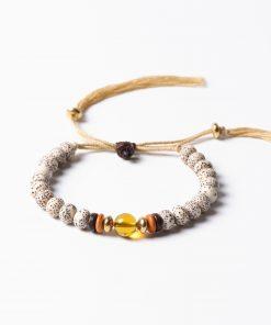 Bracelet amulette tibétaine